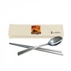 日出龜山環保餐具組_米色